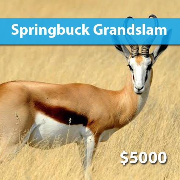 Springbuck Grand Slam Package